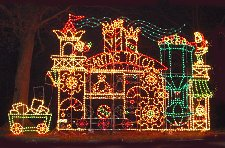 tilles park - Christmas Lights St Louis